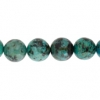 African Turquoise 8mm Round 21pcs Approx